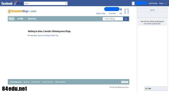 اپلیکیشن فیس بوک