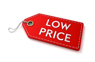 قیمت پایین و تأثیر آن
